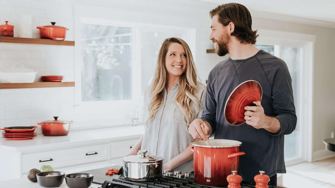 Ben's Original Website Cooks in Kitchen