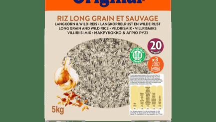 Ben's Original Riz long grain et sauvage 5kg
