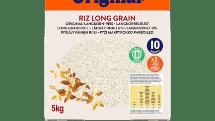 Riz long grain tradition 5 kg